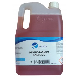 ZENOX DESENGRASANTE ENERGICO (5L) E-245.