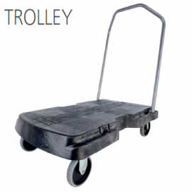 TRIPLE TROLLEY CON RUEDAS